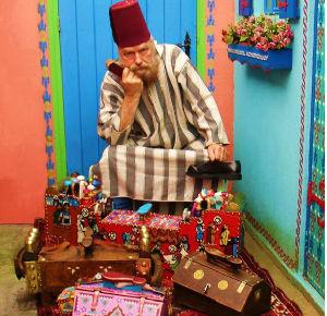 Arabische Schoenenpoetser