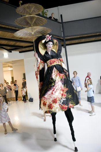 Geisha's op Stelten