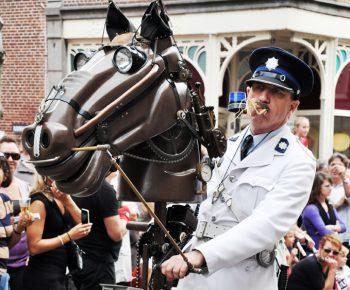 Politie te paard!
