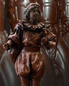 Zwarte Piet in Chocola