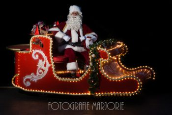 Kerstman Op De Slee