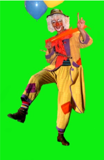 Clown Flauta