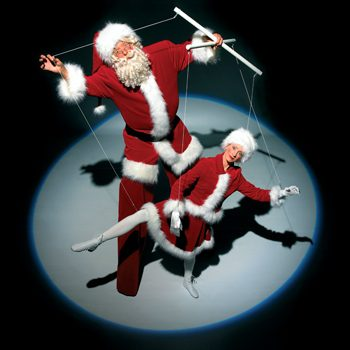 De Poppenspeler Santa