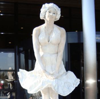 Marylin Monroe – Statue