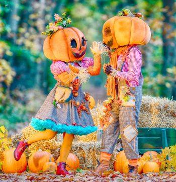 Mr. & Mrs Pumpkin