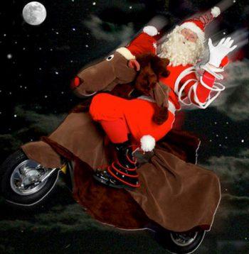 Santa & Rudolf