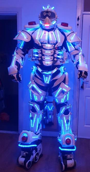 White LED Robot